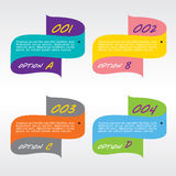 Set of Colorful Banners. Stock Photo