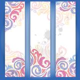 Set of Colorful Banners. Vector Illustration. Eps 10 Stock Photos