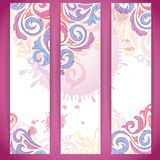 Set of Colorful Banners. Vector Illustration. Eps 10 Royalty Free Stock Photo
