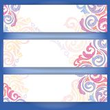 Set Of Colorful Banners. Vector Illustration. Eps 10 royalty free illustration
