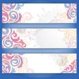 Set Of Colorful Banners. Stock Images