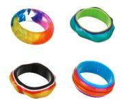 Set of colorful bracelets Stock Photography