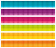 Set of Colorful Bright Banners. Royalty Free Stock Image