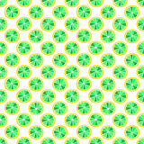 Set of colorful cartoon fruits lemon. Colorful Seamless Pattern. Royalty Free Stock Photo