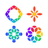 Set of colorful Design Elements Stock Photo