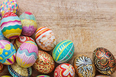 Set of colorful easter egg Royalty Free Stock Photo