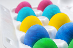 Set of colorful Easter eggs.  Stock Image