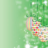 Set of colorful Easter eggs Stock Photography