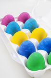 Set of colorful  eggs. Set of colorful Easter eggs Royalty Free Stock Photos