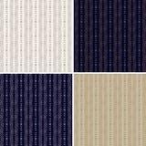 Set of colorful geometric pattern background. Stock Image