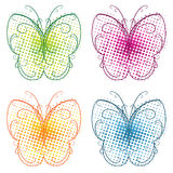 Butterfly Flourish Stock Images
