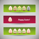Happy Easter Banners Stock Image