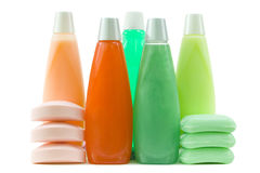 Set of Colorful Hygienic Supplies Royalty Free Stock Photo