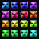 Set of colorful icons Royalty Free Stock Photo