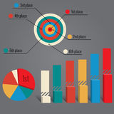 Infographics elements Stock Image