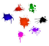 Ink splash Stock Images
