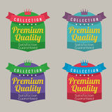 Set of Colorful Labels Stock Image