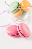 Set of colorful macaroons Stock Photography