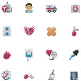 Vector medical icon set Stock Photos