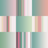 Set of colorful pastel abstract gradients and strips Stock Photo