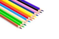 Set of colorful pencils Stock Photos