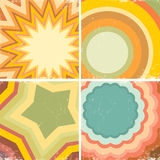 Set of colorful posters Royalty Free Stock Image