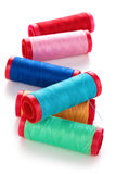 Set of colorful spools. Stock Photography