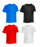Set of colorful T-shirts Royalty Free Stock Photo