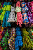 A set of colorful textile palette Royalty Free Stock Photo