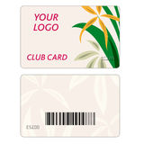Set of colorful vector business cards Stock Images