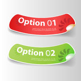 Set of colorful Vector Sample Stock Photo