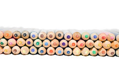 Set of coloring pencils Royalty Free Stock Photo