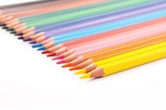 Set of colour pencil Royalty Free Stock Photos