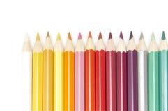 Set of colour pencils Stock Image