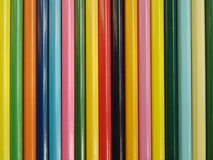 The Set colour pencils. Royalty Free Stock Photography