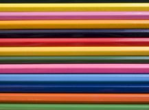 The Set colour pencils. Royalty Free Stock Image