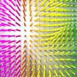 Set coloured ołówek Ołówki są trwanie i wyrównujący po siły pole ilustracja wektor
