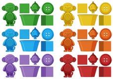 Set colourful element ilustracja wektor