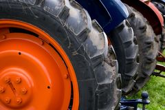Tractor Wheels Royalty Free Stock Photo