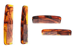 Set of a comb Royalty Free Stock Photo