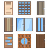 Set  combined doors Stock Image