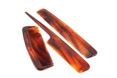 Set of combs Royalty Free Stock Images