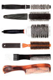 Set of combs Stock Photos