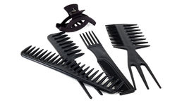 Set of combs Royalty Free Stock Photo