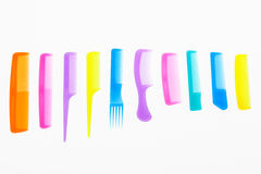 Set of combs Stock Photo