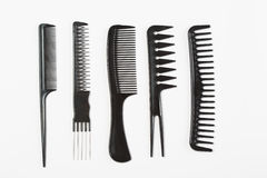 Set of combs Stock Photography