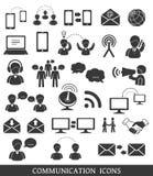 Set of communication icons. Royalty Free Stock Image