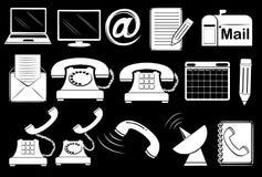 Set of communication tools Royalty Free Stock Photo