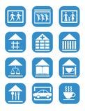 Set of communications icons Royalty Free Stock Image