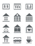 Set of communications icons Stock Images